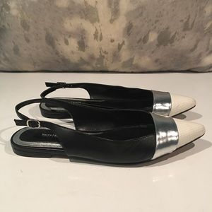 AWESOME FLAT SLINGBACKS FROM WHBM SIZE 8.5